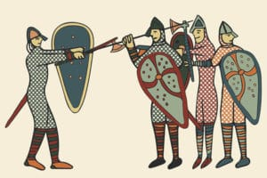 14 to 16 October: Battle of Hastings 1066 William the Conqueror (French and Spanish)