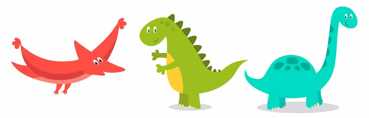 Responsive of the week – Dinosaurs