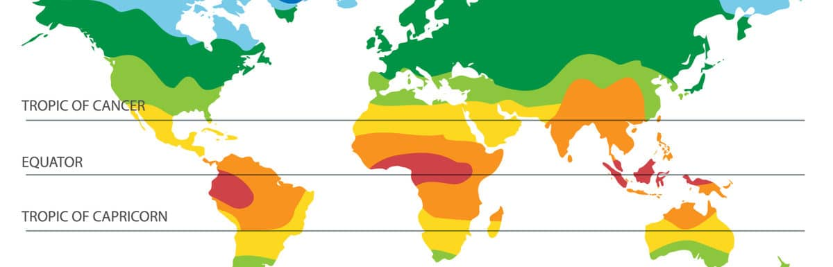 Responsive of the week – Climate zones